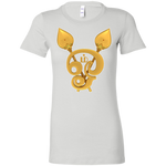 6004 Bella + Canvas Ladies' Favorite T-Shirt - Om in Tamil