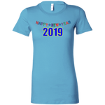 "6004 Bella + Canvas Ladies' Crew-Neck T-Shirt - ""New Year"""