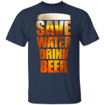 G500 Gildan 5.3 oz. T-Shirt | SAVE WATER DRINK BEER