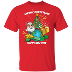 G500 Gildan 5.3 oz. T-Shirt|Merry Xmas & Happy Newyear 2020