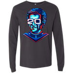 3501 Bella + Canvas Men's Jersey LS - Robo 2.0 T-Shirt