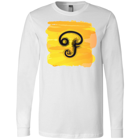 3501 Bella + Canvas Men's Jersey LS T-Shirt - Tamil Om