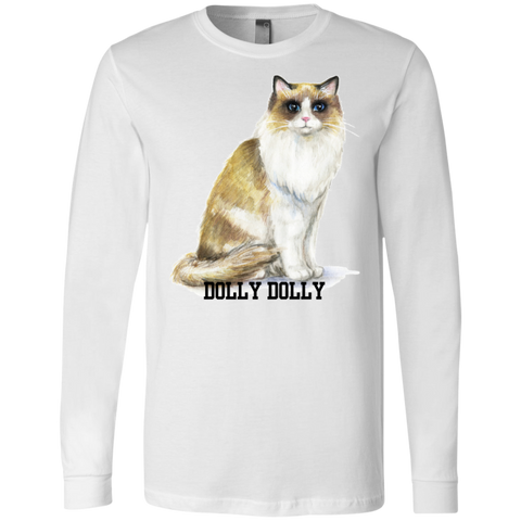 3501 Bella + Canvas Men's Jersey LS T-Shirt - Ragdoll