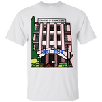 "G200 Gildan Unisex Crew-Neck  T-Shirt - ""Trichur Engg College"" Doodle -Personalised year"