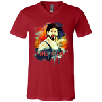 3005 Bella + Canvas Unisex Jersey SS V-Neck T-Shirt - SRK