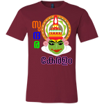 "3001C Bella Canvas Unisex Jersey Short-Sleeve T-Shirt - ""Kathakali"""