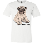 3001C Bella + Canvas Unisex Jersey Short-Sleeve T-Shirt - Pug