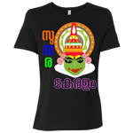 "B6400 Bella + Canvas Ladies' Relaxed Jersey Short-Sleeve T-Shirt - ""Kathakali"""