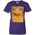 G200L Gildan Ladies' 100% Cotton T-Shirt|Incredible India|BEST Kerala Tees|Thiruvananthapuram