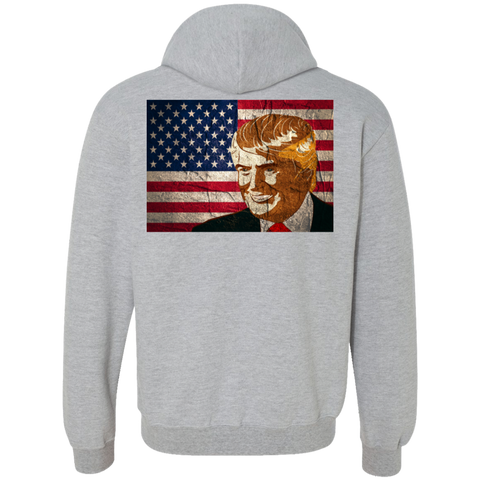G925 Gildan Heavyweight Pullover Fleece Sweatshirt - Donald Trump