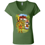 B6005 Bella + Canvas Ladies' Jersey V-Neck T-Shirt- Thrissur