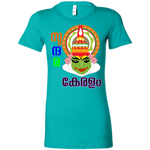 "6004 Bella + Canvas Ladies' Crew-Neck T-Shirt - ""Kathakali"""