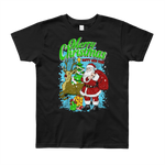 Kids ( Boys & Girls)  Round Neck 100% cotton tshirt - Merry XMAS & Happy New year