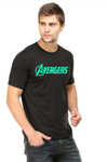 Men's Round Neck 100% cotton tshirt - AVENGERS - Glow in the Dark