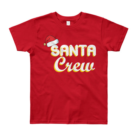 Boy's Round Neck 100% cotton tshirt - Santa Crew