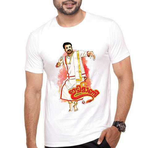 Men's Round Neck 100% cotton tshirt - Ittimani-Made in CHINA|Mohanlal
