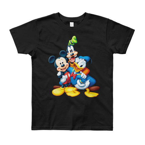 Girls Round Neck 100% cotton tshirt - Micky Mouse|Minnie|Pluto