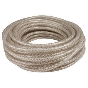 "1/4"" I.D. Braided Vinyl Hose- 100' Spool # 548WD1200C"