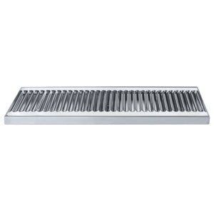 "18"" Surface Mount Drip Tray, No Drain, Stainless Steel # DP-120-18"