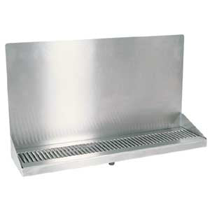 "24"" Stainless Steel Wall Mount Drain Tray # DP-322ELD-0"