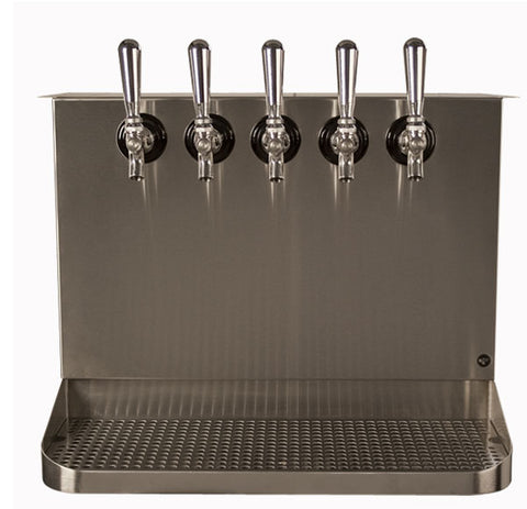 Under Bar Dispensing Cabinet - Glycol Cooled - 5 304 Faucets # SB520-KR