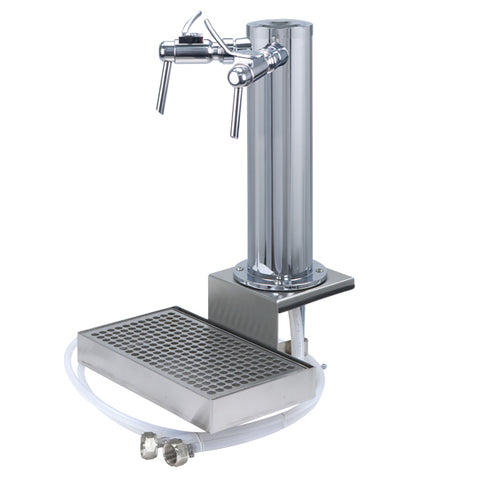 Clamp On Wine Font (Chrome ABS Plastic, 2 Faucet) # DS532CL-W