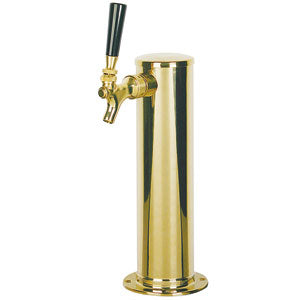 "3"" Column - 1 304 Faucet - PVD Brass - Glycol Cooled # D4743T-PVDKR"