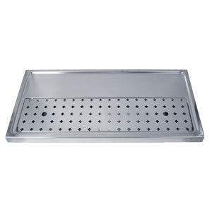 "31-1/2"" Stainless Steel Drip Tray, 3-5 Faucets # DP-1606-NR"
