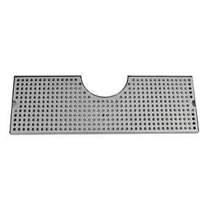 "34"" Stainless Steel Surface Mount # DP-MET-T-34-Z"