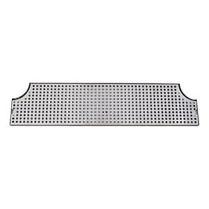 "34"" Stainless Steel Surface Mount Drain Tray w/ Drain # DP-MET-H-34-Z"