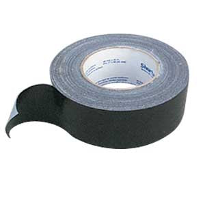"Black Duct Tape - 2"" x 60 Yd # ES-DT180"
