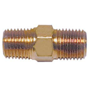 "Connector Nipple, 1"" x 1/4"" NPT (Right Hand Threads) # 618B"