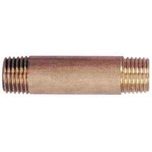 "Connector Nipple, 2"" x 1/4"" NPT (Right Hand Threads) # 618BL"