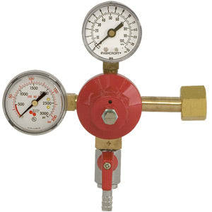 Lo-Pressure Series - CO2 Primary Double Gauge - 0-15 PSI Gauge # 842-15
