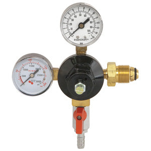 Low Pressure Series - Nitrogen Primary Double Gauge 0-15 PSI Gauge # 842N-15