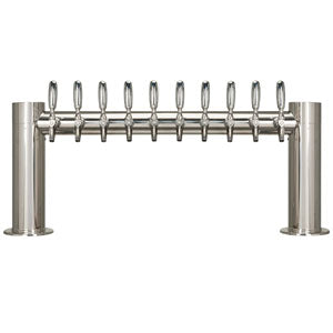 "Metropolis ""H"" - 10 304 Faucets - Polished Stainless Steel - Glycol Cooled # METRO-H-10PSSKR"