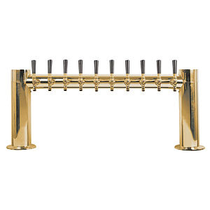 "Metropolis ""H"" - 10 304 Faucets - PVD Brass - Glycol Cooled # METRO-H-10PVDKR"