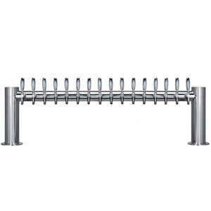 "Metropolis ""H"" - 16 304 Faucets - Polished Stainless Steel - Glycol Cooled # METRO-H-16PSSKR"