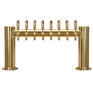 "Metropolis ""H"" - 8 304 Faucets - PVD Brass - Glycol Cooled # METRO-H-8PVDKR"