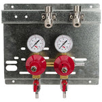 Secondary Regulator Panel - 2 Products - 2 Pressures # 8221