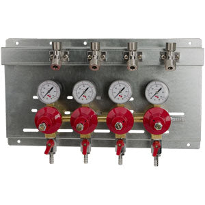 Secondary Regulator Panel - 4 Products - 4 Pressures # 8241