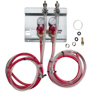 Secondary Regulator Panel Kit - 2 Pressure - 2 Products # 83215