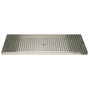 "Surface Mount Drip Tray, 18"" x 8"", Stainless # DP-820D-18"