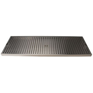 "Surface Mount Drip Tray, 24"" x 8"", Stainless Steel # DP-820D-24"