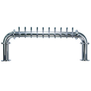 "Titan ""U"" - 10 304 Faucets - Polished Stainless Steel - Glycol Cooled # TT-U-10KR-11"