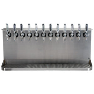 Under Bar Dispensing Cabinet - Glycol Cooled - 12 304 Faucets # SB1238-KR