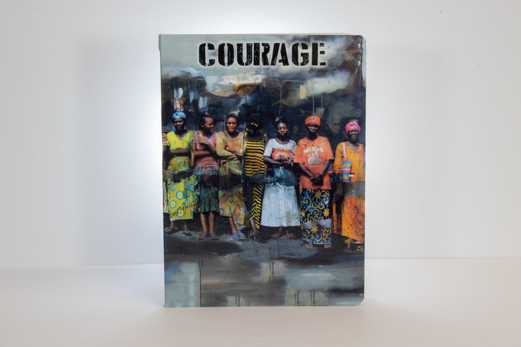 Women with Courage Notebook