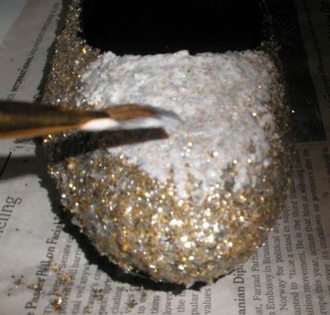 Glitterize your pair of shoes