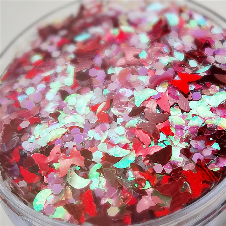 Custom Mixed Glitter Powder 024