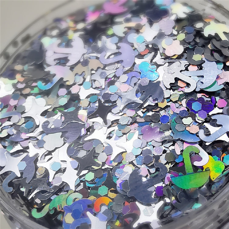 Custom Mixed Glitter Powder 028